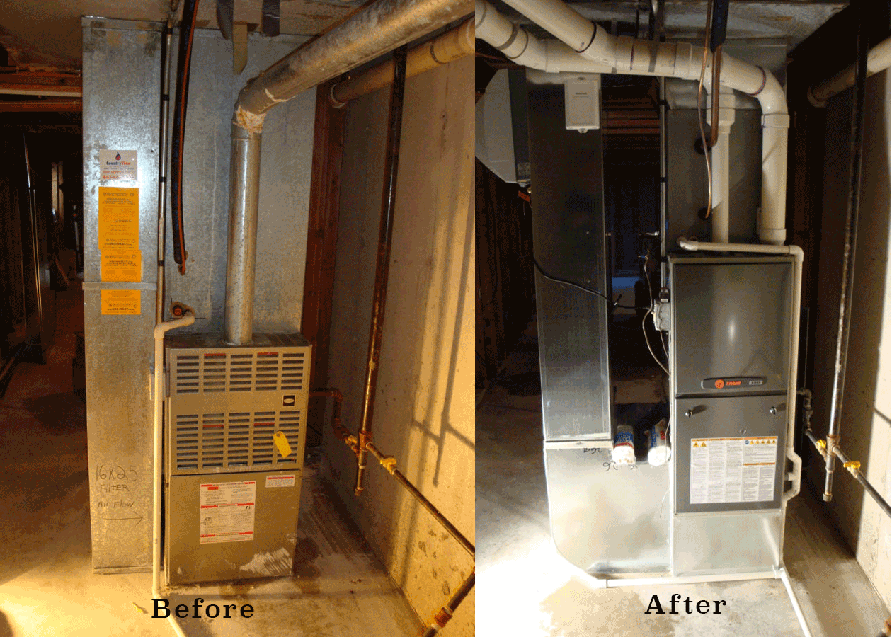 furnace repair oswego il