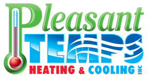 Pleasant Temps Heating & Cooling Logo